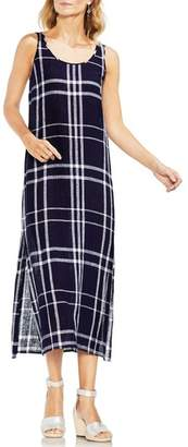 Vince Camuto Beach Plaid Maxi Dress