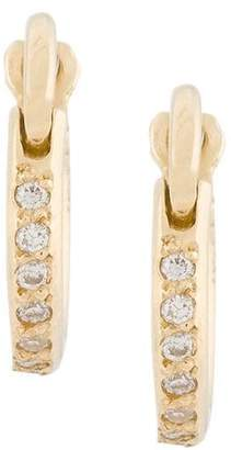 Ileana Makri diamond mini hoop earrings