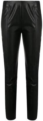 Pinko faux leather skinny trousers