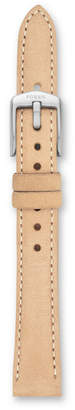 Fossil Jacqueline 14mm Light Brown Leather Watch Strap