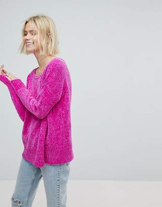 Hollister Chenielle Oversize Knit Sweater