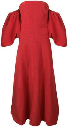 Ellery Eleni strapless gown
