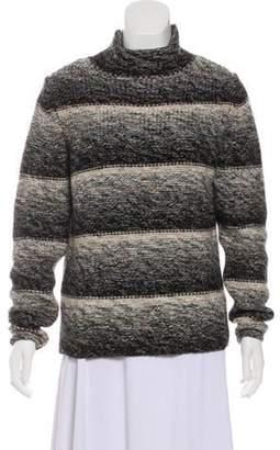HUGO BOSS Boss by Virgin Wool Mock Neck Sweater Black Boss by Virgin Wool Mock Neck Sweater