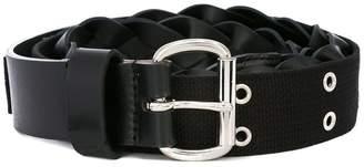 Sacai braid effect belt