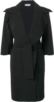 Chiara Boni Le Petite Robe Di belted mid-length coat