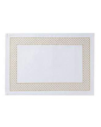 Waterford Netta Placemat, White/Champagne