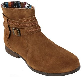 Minnetonka Suede Leather Ankle Boots - Dixon