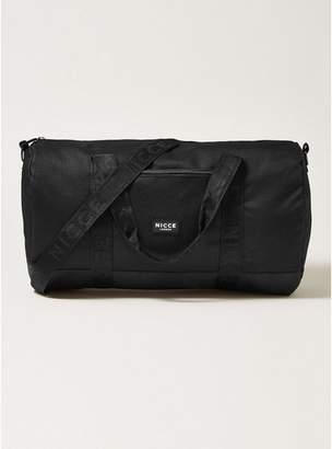 Topman Mens NICCE Black Barrel Bag