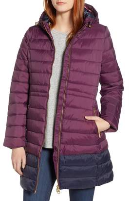 Joules Heathcote Two-Tone Puffer Jacket