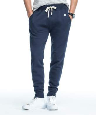 Todd Snyder + Champion Slim Jogger Sweatpant in Navy