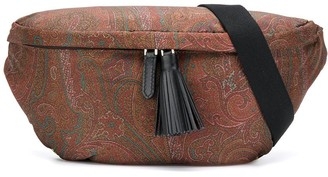 Etro paisley print belt bag