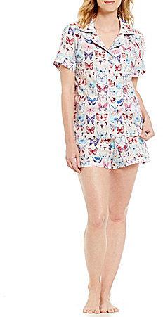 BedHeadBedHead Aflutter Butterfly Poplin Pajamas