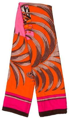 Hermes Tigre Royal Cashmere and Silk Shawl