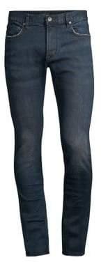 John Varvatos Distressed Stretch Slim Jeans