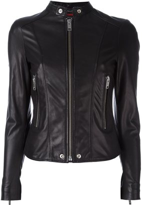 Diesel banded collar jacket $876.02 thestylecure.com