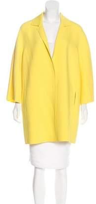 Fabiana Filippi Wool-Blend Knee-Length Coat