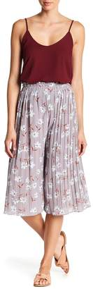 Aiden Floral Pleated Flare Culottes