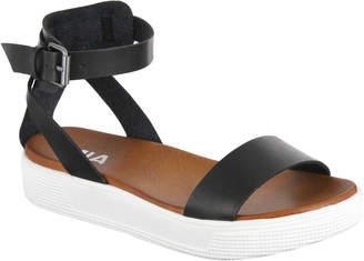 Mia Black Ellen Ankle Strap Sandals