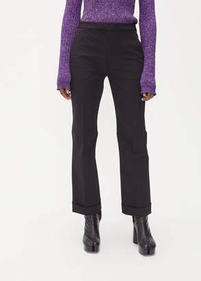 Maison Margiela Front Pleat Flare Trouser