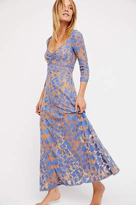 For Love & Lemons Temecula x Lace Maxi Dress