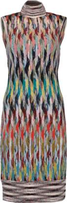 Missoni Turtleneck Fitted Dress