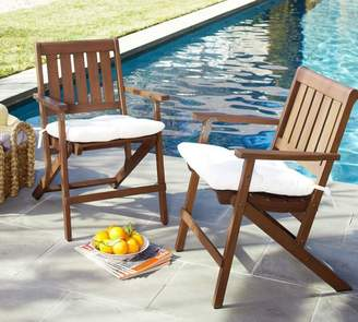 Genial At Pottery Barn · Pottery Barn Folding Dining Chair