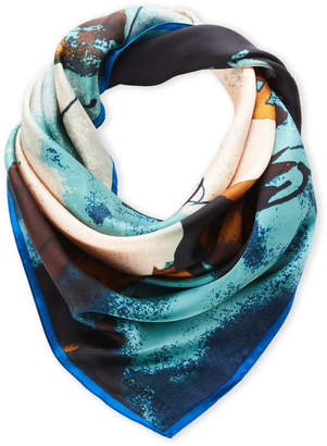 Vince Camuto Printed Silk Scarf