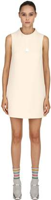 L'Autre Chose Sleeveless Double Wool Crepe Dress