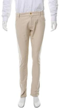 Marc Jacobs Brushed Cotton Skinny Pants