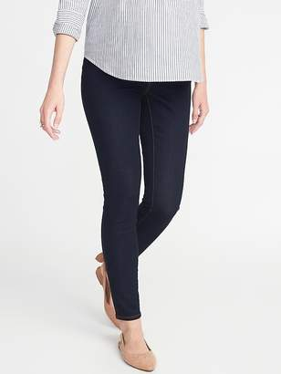 Old Navy Maternity Front Low-Panel Rockstar Jeans