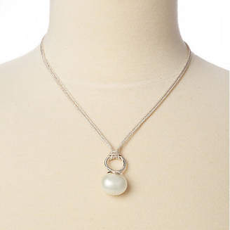 Catherine Canino Mother-of-Pearl Silver Cord Necklace
