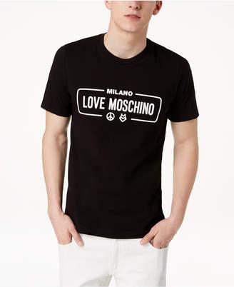 Love Moschino Men's Graphic-Print T-Shirt