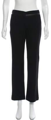 DKNY Wool-Blend Wide-Leg Pants