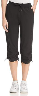 Andrew Marc Performance Commuter Side-Tie Cropped Lounge Pants