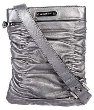 MICHAEL Michael Kors Metallic Leather Crossbody Bag