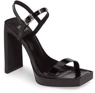 8e1de52962d Jeffrey Campbell Black Heeled Women s Sandals - ShopStyle