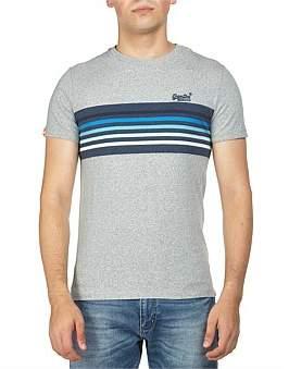 Superdry Orange Label Cali Surf Banner Stripe