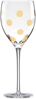 Kate Spade Pearl Place Collection Wine Glass