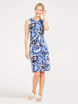 Sophia Sleeveless Dress in Seine Fleur