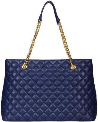 Moschino Blue Tote Bag