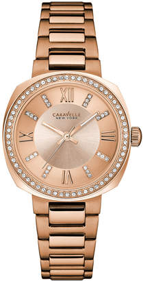 Swarovski Caravelle by Bulova Caravelle New York Women's Crystal Watch