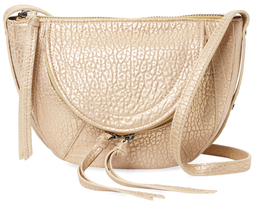 Clara Mini Leather Saddle Crossbody $248 thestylecure.com
