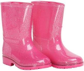 Board Angels Infant Girls Glitter Wellington Boots Pink