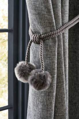 Next Faux Fur Holdbacks