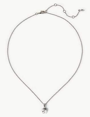Marks and Spencer Flower Necklace with Swarovski® Crystals