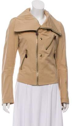 Marni Asymmetric Funnel Neck Jacket