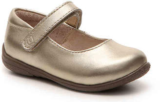 Umi Ria Metallic Toddler & Youth Mary Jane Flat - Girl's