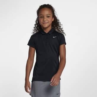 Nike Dri-FIT Victory Big Kids' (Girls') Golf Polo