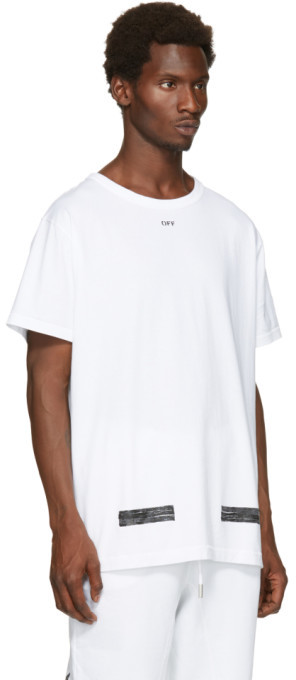 Off-White White Brushed T-Shirt 2
