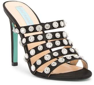 Betsey Johnson Jovi Embellished Strappy Sandal